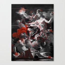Sacred Aurora Canvas Print