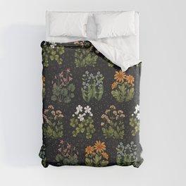 Wild Flowers ~ vol3. ~ dark Duvet Cover