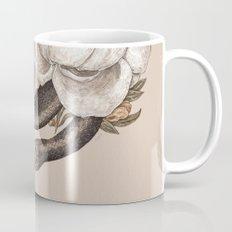 Snake and Peonies Mug