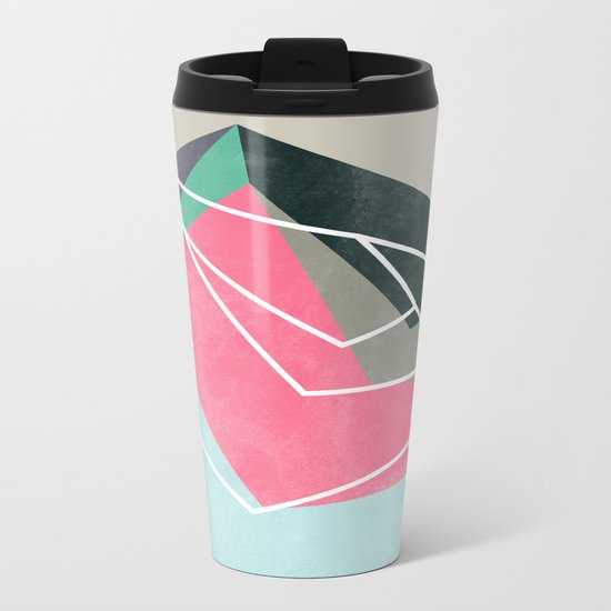 Fill & Stroke Metal Travel Mug