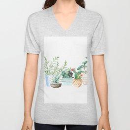 Plants Unisex V-Neck