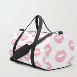 Coral Lips Duffle Bag