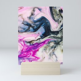 Pink lady Mini Art Print