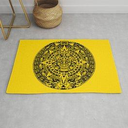 Mayan Calendar // Yellow Rug