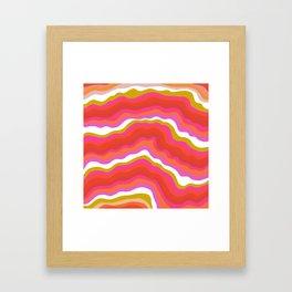 summer of love Framed Art Print