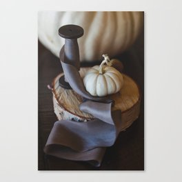 Hudson Valley Autumn Still Life Canvas Print