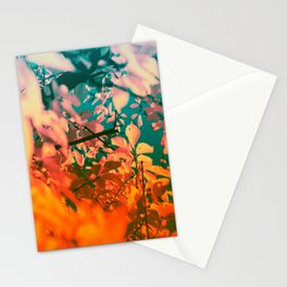 Autumn Fantasy colors of love & light Stationery Cards