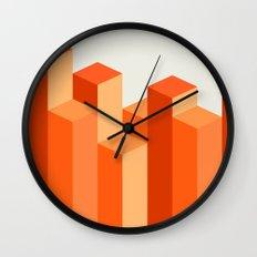 Geometric City Wall Clock