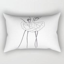 Ink and Ballet 2 Rectangular Pillow