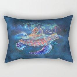 Turtle Dream Island Rectangular Pillow