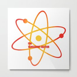 the Tangerine Factor - Season 1 Episode 17 - the BB Theory - Sitcom TV Show Metal Print
