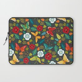 The Butterfly Garden - Charcoal Laptop Sleeve