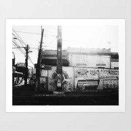 Fortaleza City, Brazil Art Print