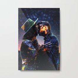 Fire of Love by GEN Z Metal Print