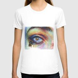 Flower eye T-shirt