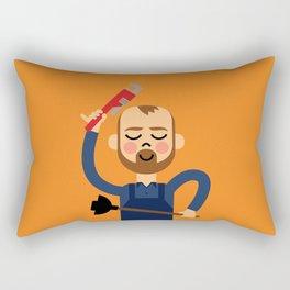 Taking the Plunge! Rectangular Pillow