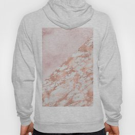 Rose gold & pinks marble Hoody