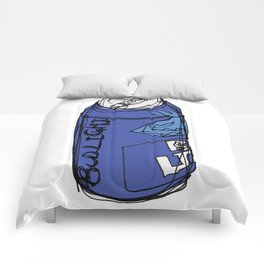 Bud Light Can Comforters