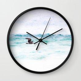 ENJOY THE BREEZE Wall Clock