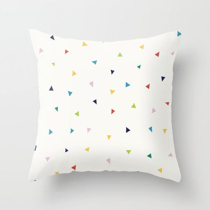 Cute Confetti Pattern Throw Pillow