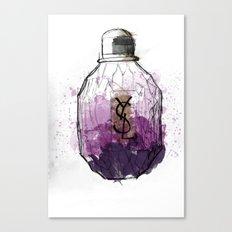 YSL Parisienne Canvas Print