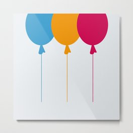 Ballon Metal Print