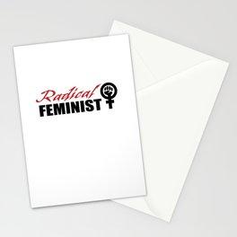 Radical Feminist Stationery Cards