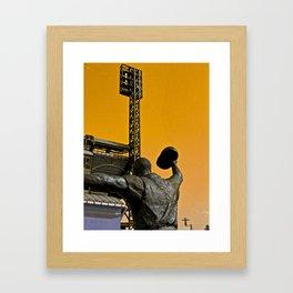 Maz 1960 World Series Hero Framed Art Print