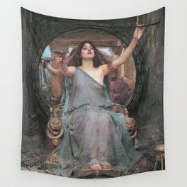 Circe Offering the Cup to Ulysses, John William Waterhouse Wall Tapestry