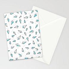the aqua line Stationery Cards