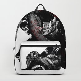 Angry Bear Backpack