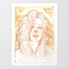 Diva 001 Art Print