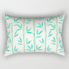 Bamboo Stems – Mint Palette Rectangular Pillow