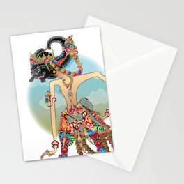 Antareja shadow Puppet character Stationery Cards