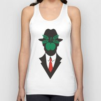 magritte Tank Tops featuring René Magritte by Fen_A