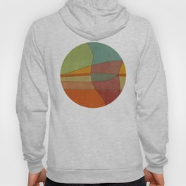 """Colorful Abstract Landscape"" Hoody"