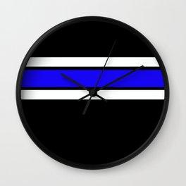 Team Colors 2....Blue Wall Clock