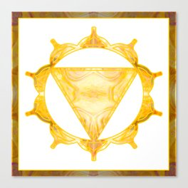 You Are My Sunshine Abstract Chakra Art  Canvas Print