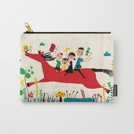 happy horse Carry-All Pouch