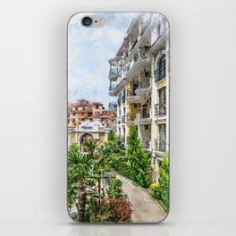 Bulgaria city 6 #bulgaria #sunnybeach iPhone Skin