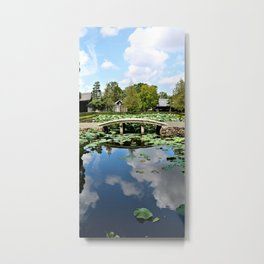 Mirror World Metal Print
