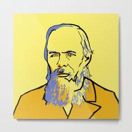 Fyodor Dostoyevsky Metal Print