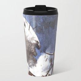 Mad Polar bear Travel Mug