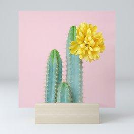 She wore flowers in her hair Mini Art Print