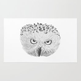 Snowy Owl Rug
