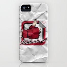 Hadouken! iPhone Case