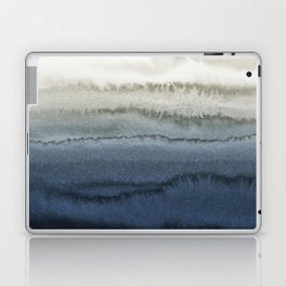 WITHIN THE TIDES - CRUSHING WAVES BLUE Laptop & iPad Skin