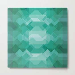 Emerald gem stone Metal Print