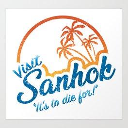Visit Sanhok Today - PlayerUnknown Battlegrounds Art Print