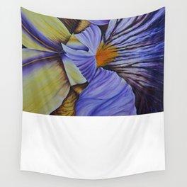 Iris-7 Wall Tapestry